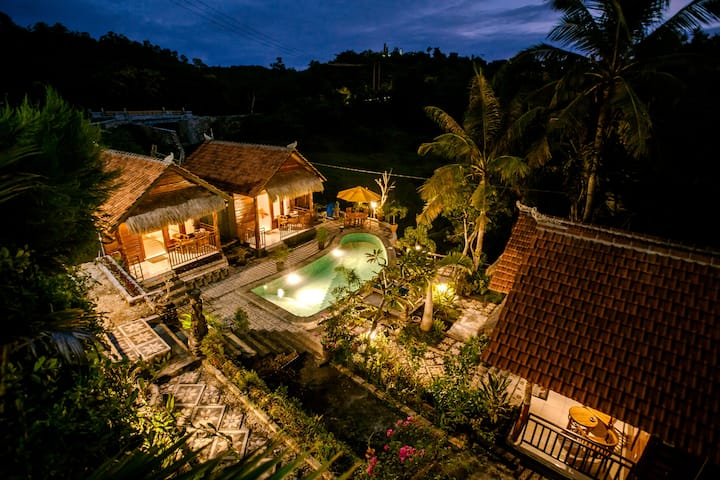 One Bedroom Bungalow Pool View Chill Place
