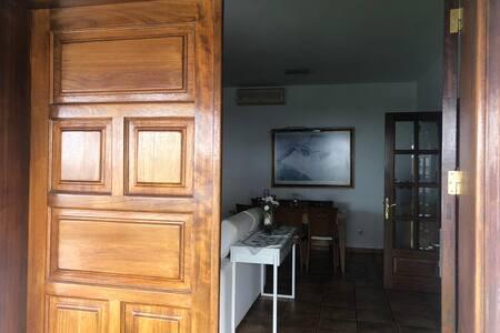 Entrada de doble puerta de 180cm