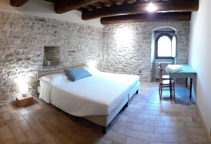 B&B Marcofrate, il Granaio room (brand new!)