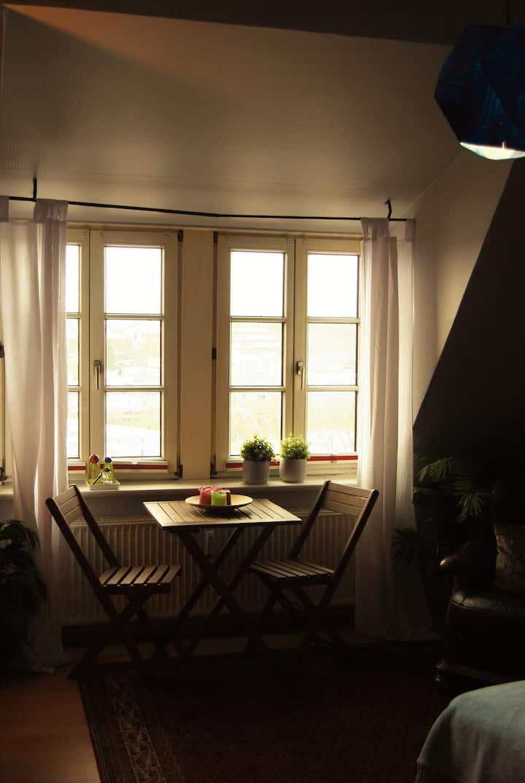KünstlerWohnung mit dem besten Ausblick Flensburgs