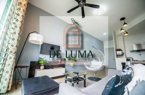 De Luma(The Rumah)@BM CITY 2 bedroom-Purple Angels