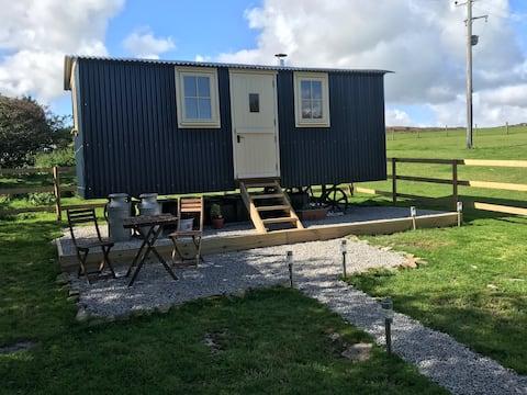 Phoenix Farm Shepherds Hut,Minions, Cornwall