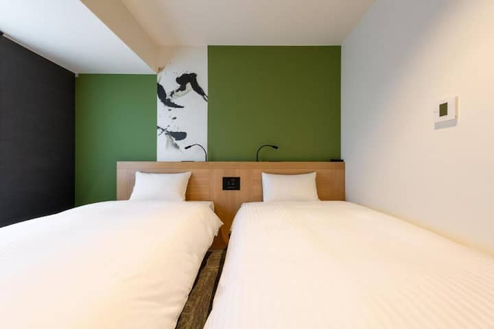 The One Five Kyoto Shijo/Twin Room/Non Smoking