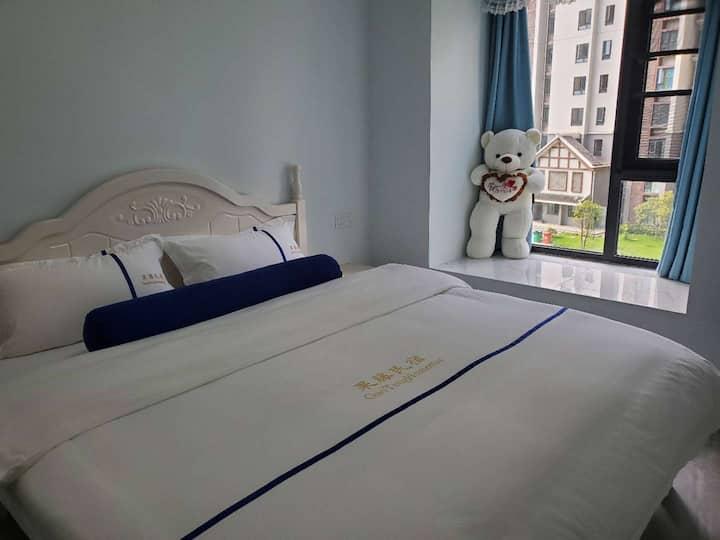 东坡岛水街双卧套房