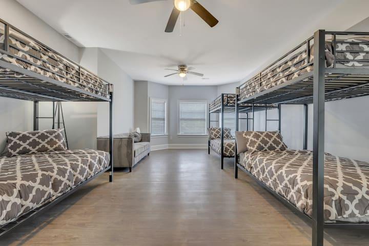 Basement Bunk Room