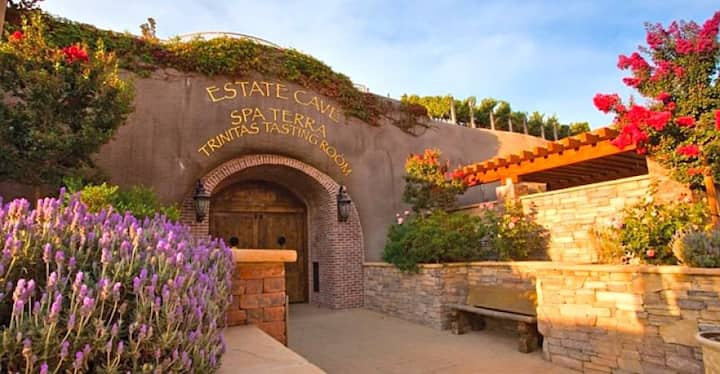1 Bedroom Suite in Napa with Wine Tasting Cave
