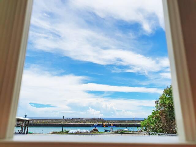 【海之岸】日出海景四人房 /【Neptunian Shore】Family Room / 三仙台住宿