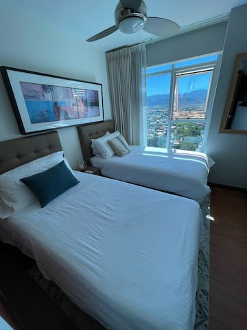 2nd Bedroom - Guest has option of two (2) twin beds or one (1) King-size bed.
