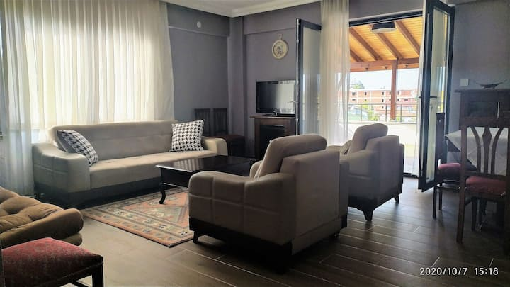 Another World private apartment at Kartepe.