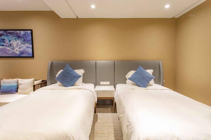 亲海园林双床房