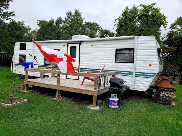 Lake-view Camping