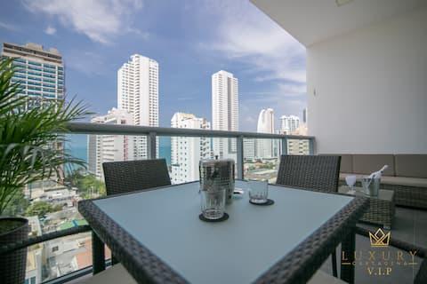 Apartamento nuevo de 1 habit bocagrande, Cartagena