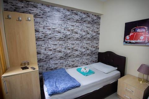 Eviniz kadar rahat - Otel22 (Tek Kişilik Oda)