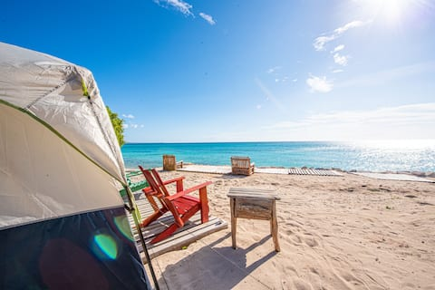 Lux Family Glamping in the Beach -6 Persons  (B&B)