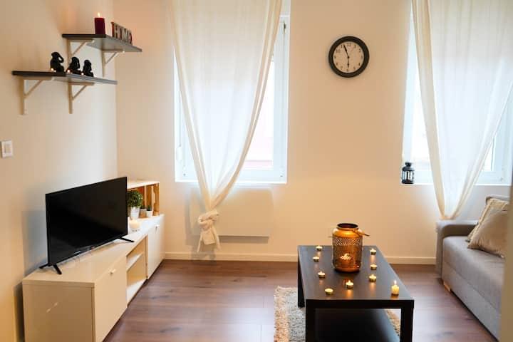 2RM - Appartement F2 à Mulhouse pour 1-3 personnes