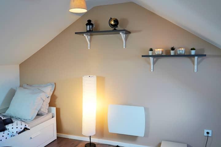 3-Studio cosy à Mulhouse