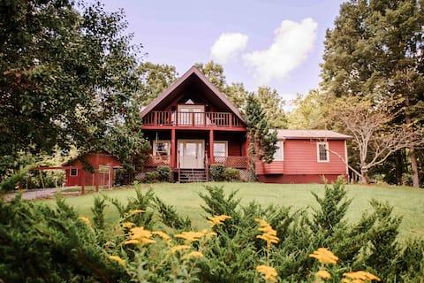 Social Distanced Brimstone Getaway Cabin!