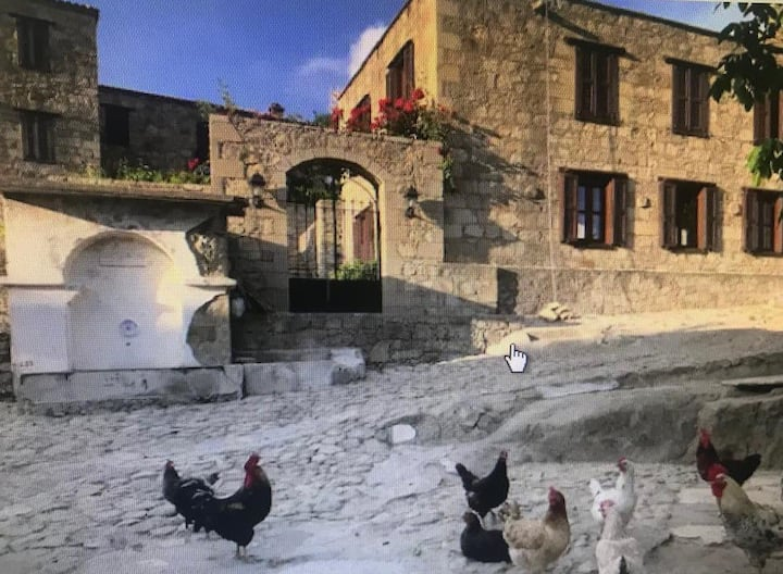 Masal köyü Adatepe'de taş ev