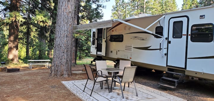 Wind Jammer RV Trailer at Living Springs Resort
