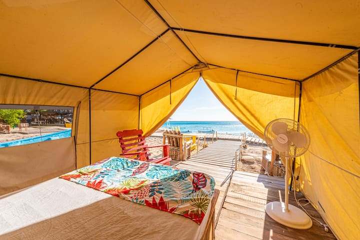 Luxury Glamping in the Beach - 2 Persons (B&B) ll
