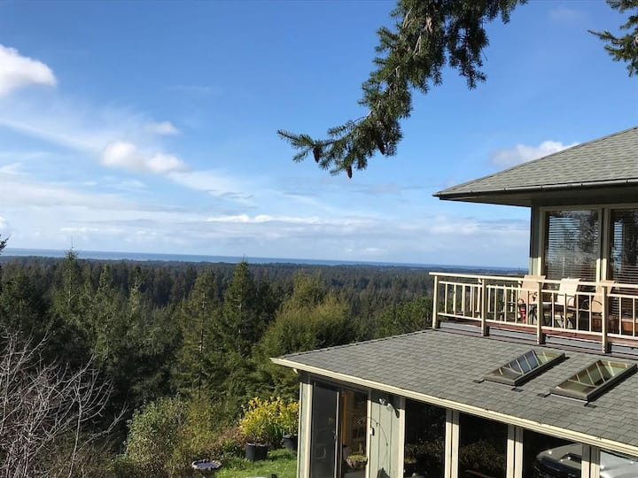 Jedidiah Smith Redwoods retreat with ocean view