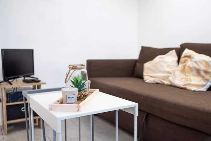 Charming mezzanine studio Marseille centre