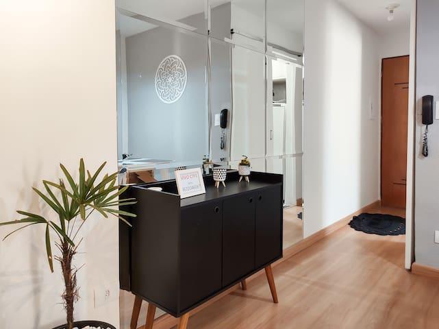 Hall de entrada do apartamento.