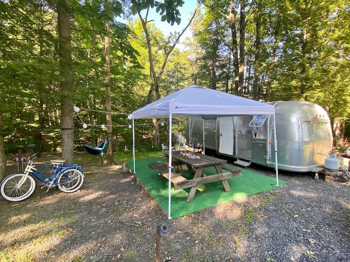 Airstream Escape @ Private Campground