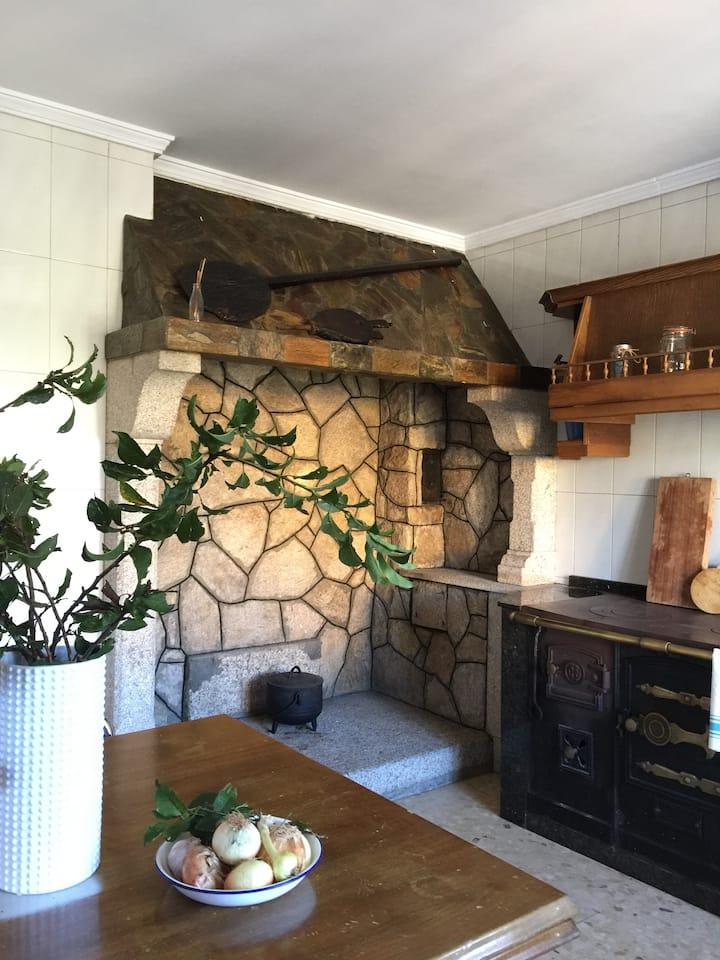 Casa Rural Picapé en Pedre, Pontevedra, Galicia.