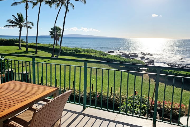 Oceanfront Maui Condo with Fantastic Ocean Views