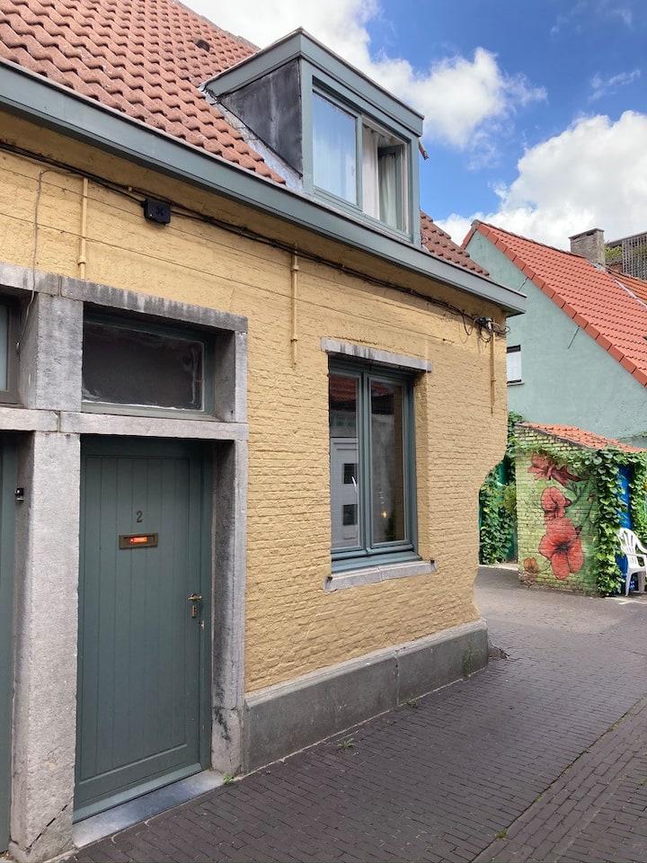 Magical little house near Rivierenhof in Antwerpen