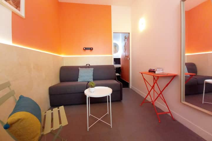 Mini studio in the heart of Latin Quarter !!