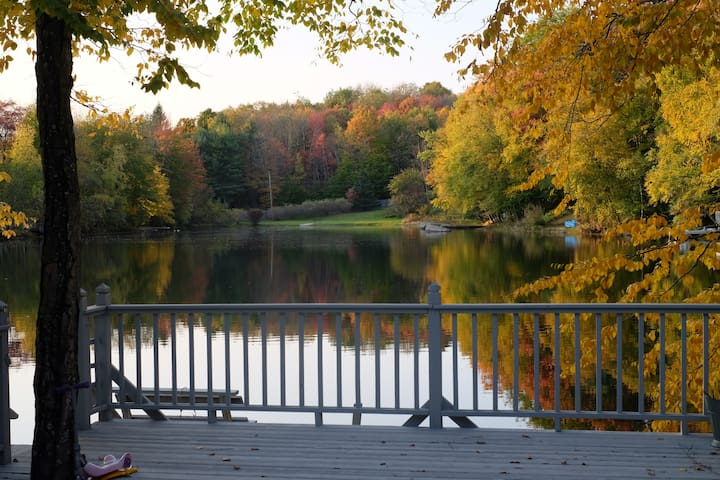 Charming Catskills Lakefront Cabin—2 hrs from NYC!