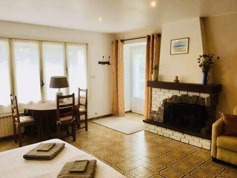 Une grande chambre au coeur du Poitou