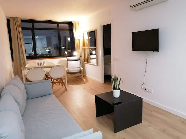 Apartamento reformado muy luminoso y cómodo