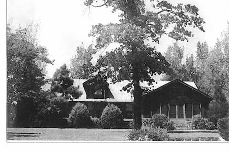 Historic Lodge on Private Campground