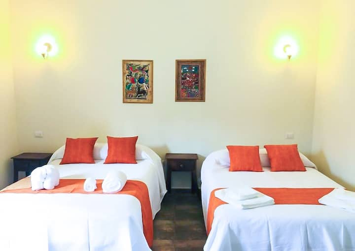 LUXURY ROOM 4 Person 2 Double size beds