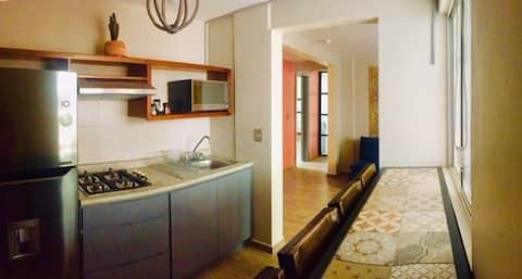Casa Tonalá. Depto moderno, centro y Tolantongo
