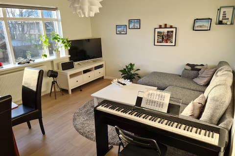 Room for 1 pers. in a cozy apt. in Reykjavik
