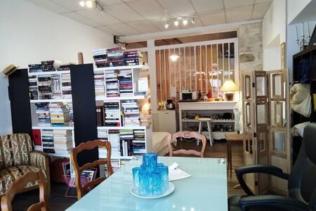 Studio spacieux RdeCh. 1/4 pers. Centre La Châtre,