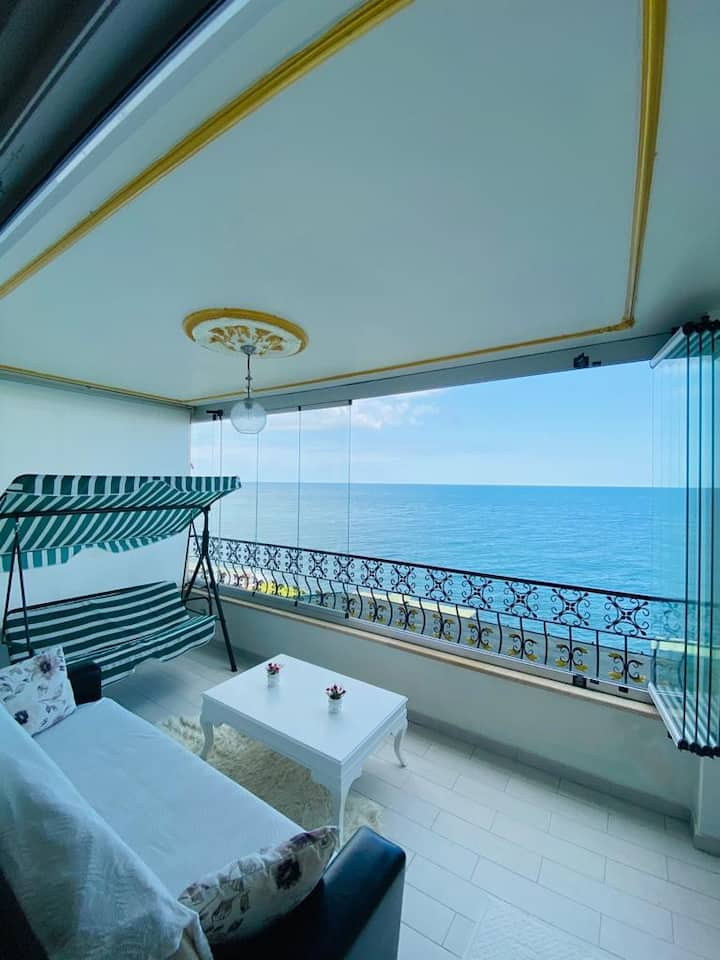 Trabzon My White House 2+1 Flat With Sea ​​View