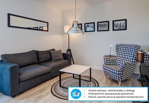 M.H. Black & White Apartment Szczecin