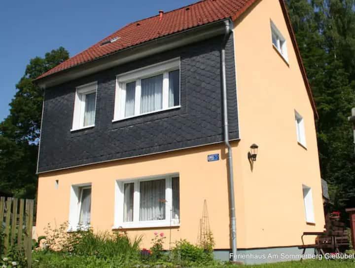 Ferienhaus*** im Thüringer Wald (4+2 Pers., 80qm)