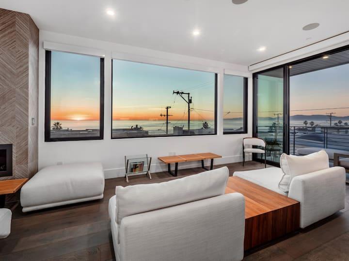 Stunning Oceanview Lux Modern in Manhattan Beach