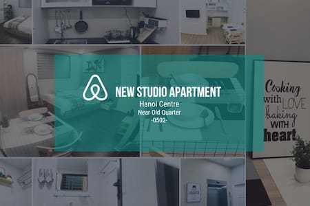 New Studio Apt, Hoan Kiem, near old quarter #0502#