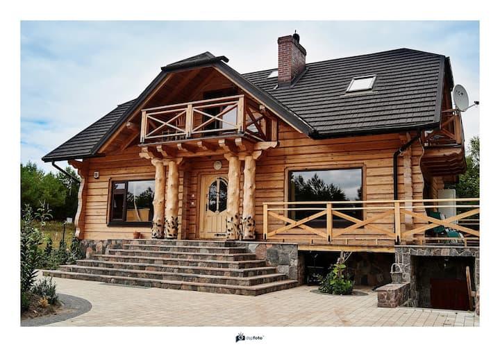 Borysówka - Dom z bezpośrednim dostępem do jeziora