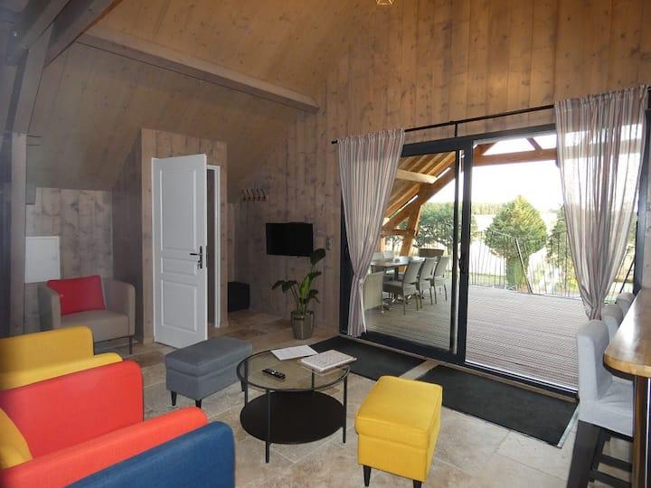 Ecow Lodge avec SPA privatif