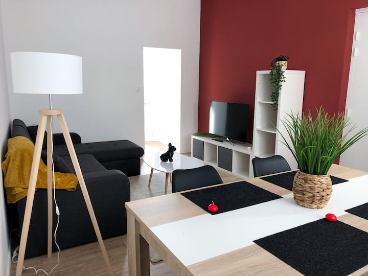 Appartement spacieux et neuf
