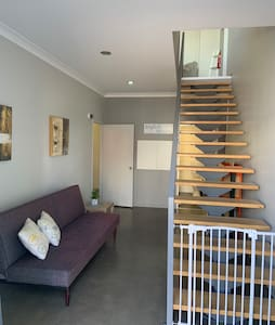 No steps across ground floor area comprising everything needed for your stay