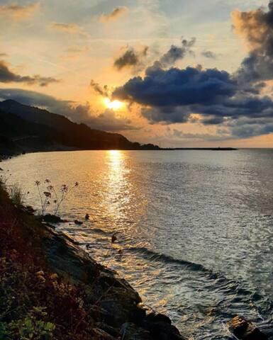 Muhteşem bir denize sıfır Karadeniz evi tecrübesi